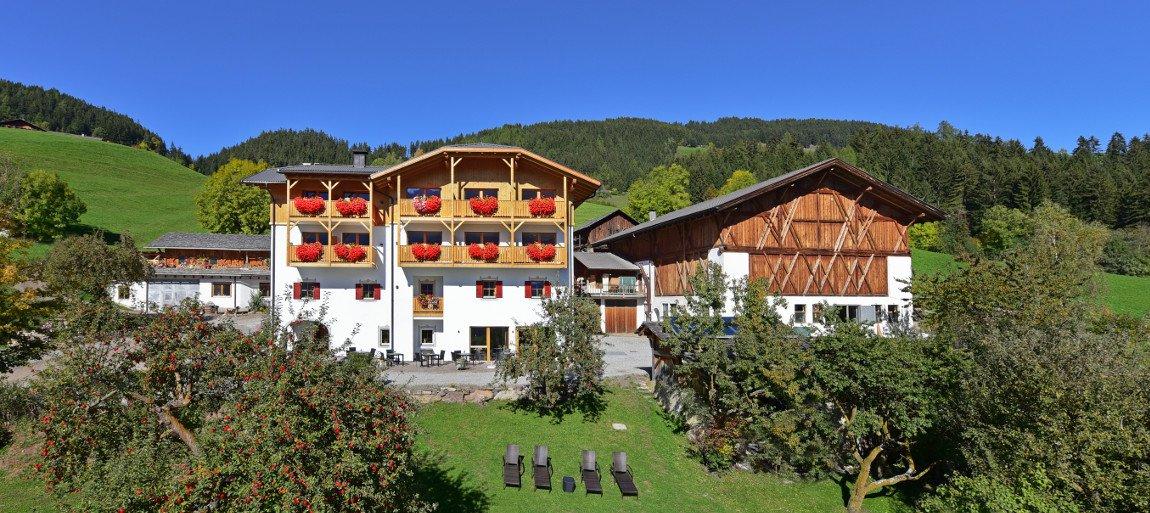 L'hotel agriturismo Gsoihof Dolomiti